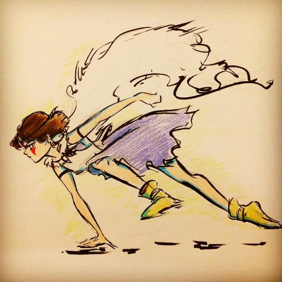 Princess Mononoke in pen and ink by gabrielleandhita.deviantart.com on @DeviantArt