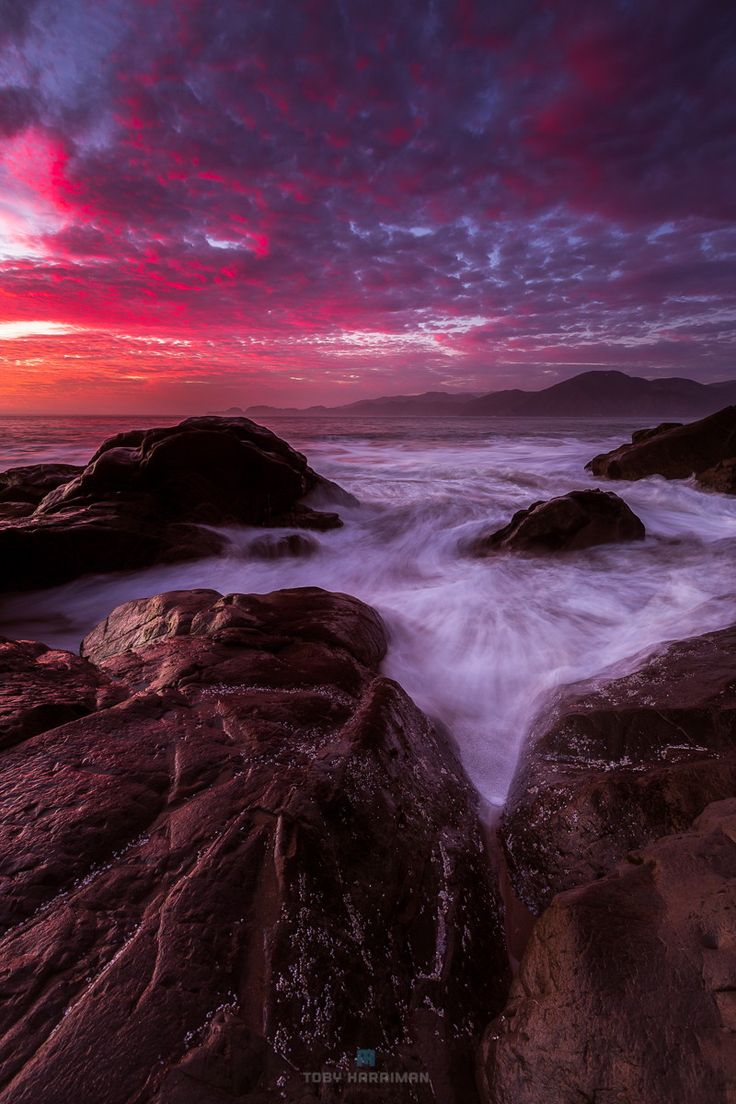 ~~A Marshall Rarity | awesome sunset with epic clouds, Marshall Beach, Presidio, San Francisco, California by Toby Harriman~~