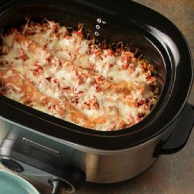 Crock-Pot Lasagna - Edna's Kitchen | Dahl's Foods. I can have a field day with this!!! Veggie lasagna would be so good!
