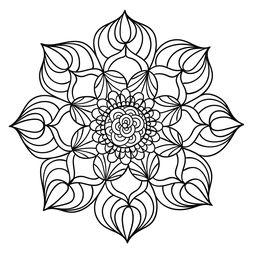 Mandala Floral #22
