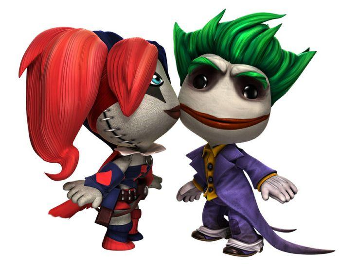 Little Big Planet Joker and Harley