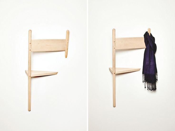 wallhax coat hanger by geof ramsay at designboom mart toronto