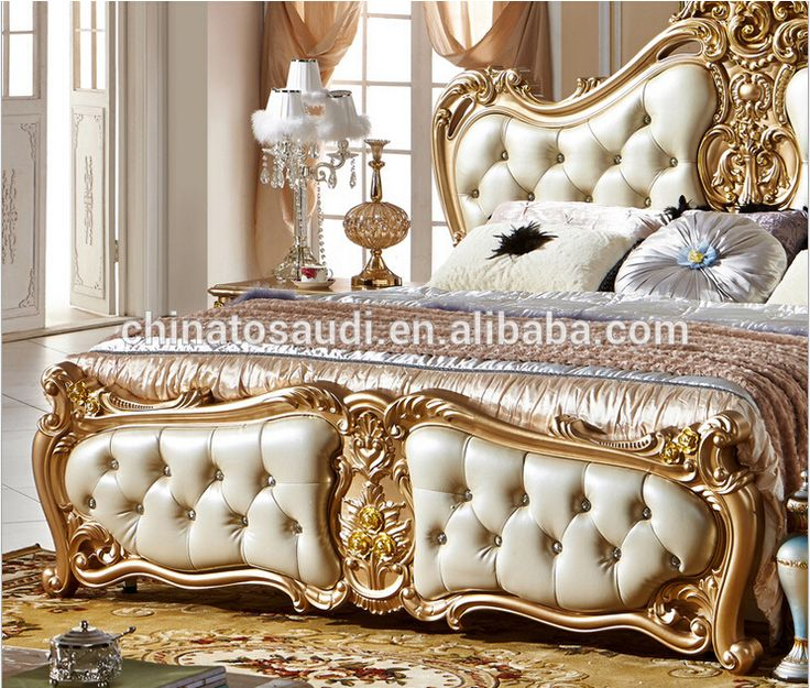 Classic King Size Bedroom Set/ European Style Hot Sell Royal Luxury Bedroom  Furniture   Buy Antique Bedroom Furniture Set,Bedroom Furniture,Bedroom ...