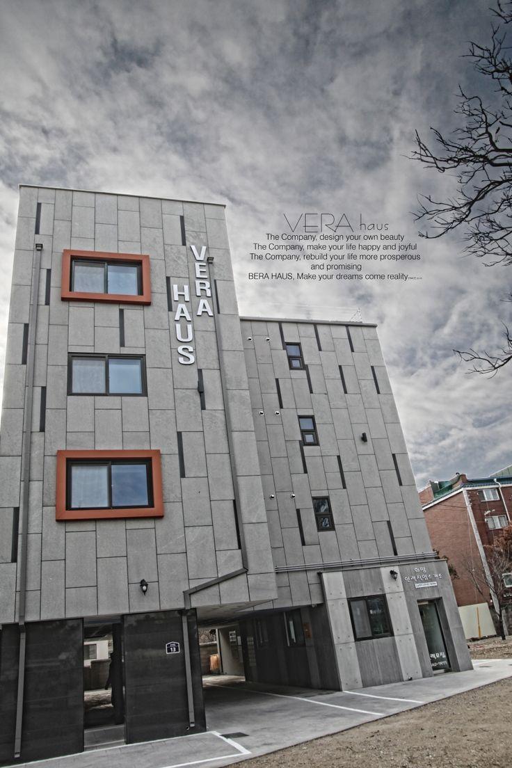 포천 도시형생활주택(원룸)VERA HAUS 고흥석 버너 / 마천석 인테리어 컨셉 / 송판노출판넬