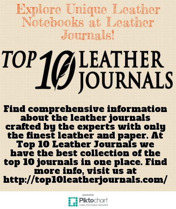 Explore a huge selection of unique leather notebooks at Top 10 Leather Journals. Now make your notes at anyplace or anytime while travelling, business meeting, etc and stay organized on-the-go with our unique leather notebook holders. Get more details, call us at +61 431285272