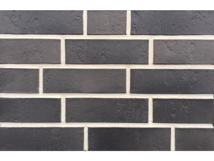 Verblender / Klinker Verblender K511-NF / Klinker / Fassade / Muster / Tafel / anthrazit nuanciert