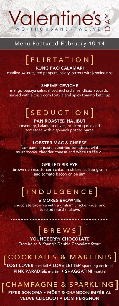 27 best images about valentine on pinterest heart shaped for Romantic valentine dinner menu ideas