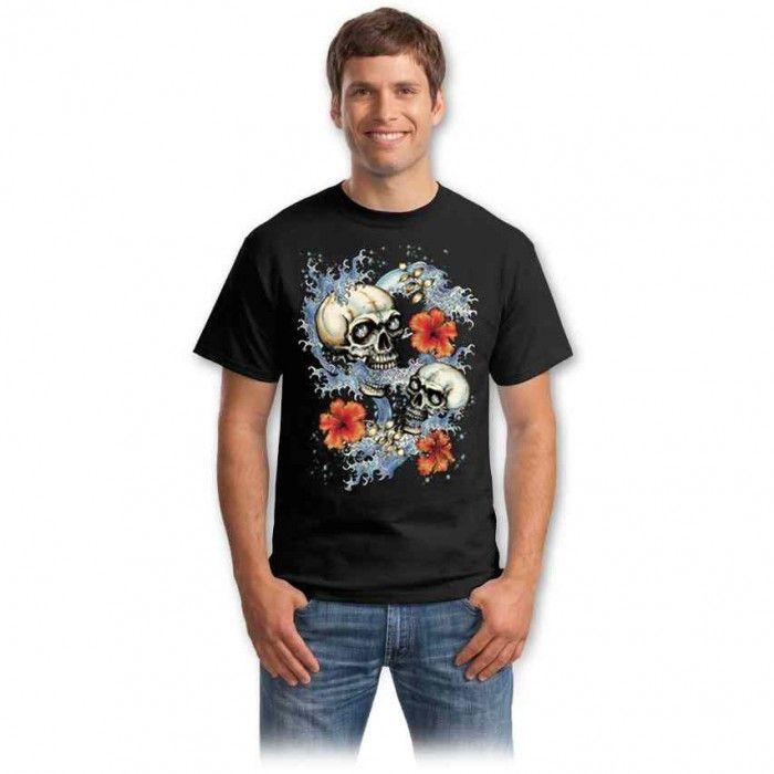 Tricouri cu cranii – Tricou Cranii stilizate