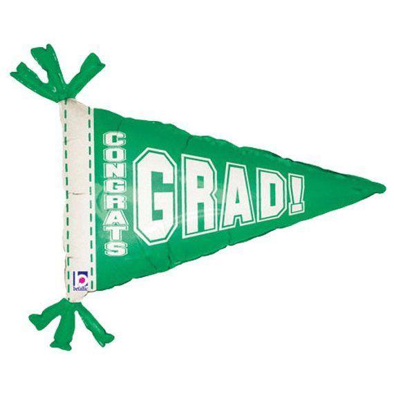 "31 ""Graduation – Graduation Balloon – Class of 2017 – Graduation Cap – Pennant – Graduation Decorati"
