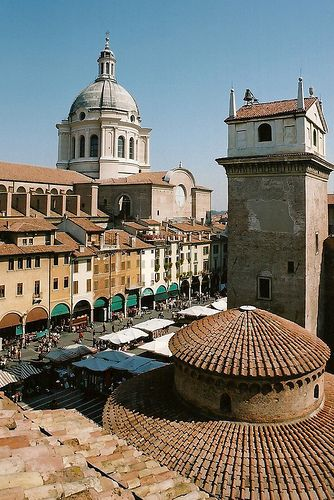 Mantova #Lombardia #Italy #inLombardia #Rooftop http://www.in-lombardia.it