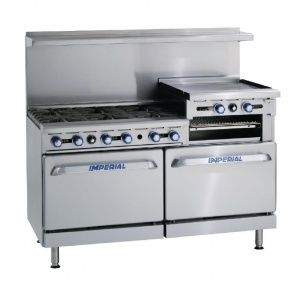 Awesome Imperial IR6RG24 6 Burner U0026 Griddle Range LPG Gas From 247 Catering  Supplies. Perfect Results