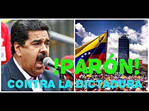!!!ULTIMA HORA!!! GRAN PARÓN NACIONAL VENEZUELA 12 FEBRERO