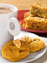 Kürbis-Walnuss-Cookies