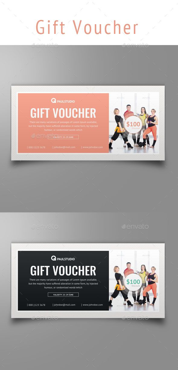 84 best images about Discount Vouchers – Fitness Gift Certificate Template