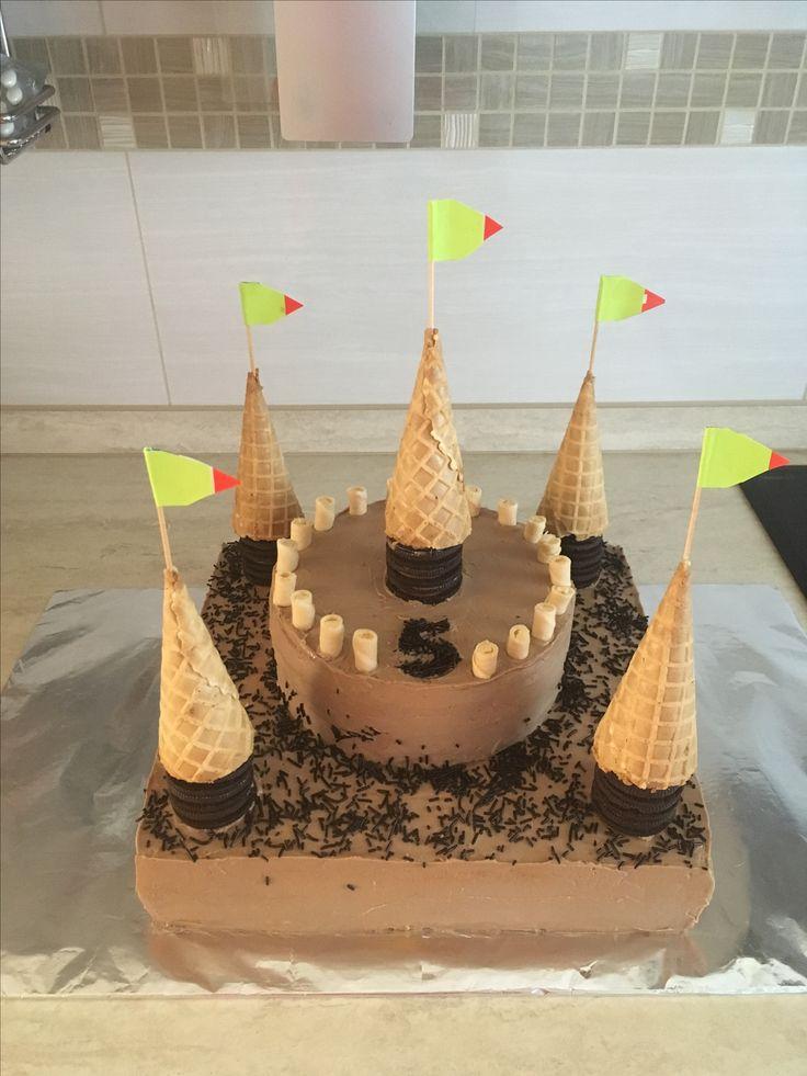 Várkastély torta