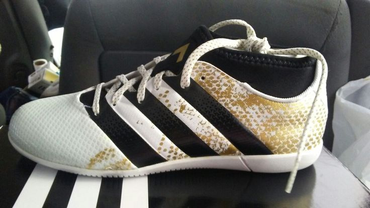 Adidas indoor soccer shoes. Love these! They are ssssooooo comfy to wear!