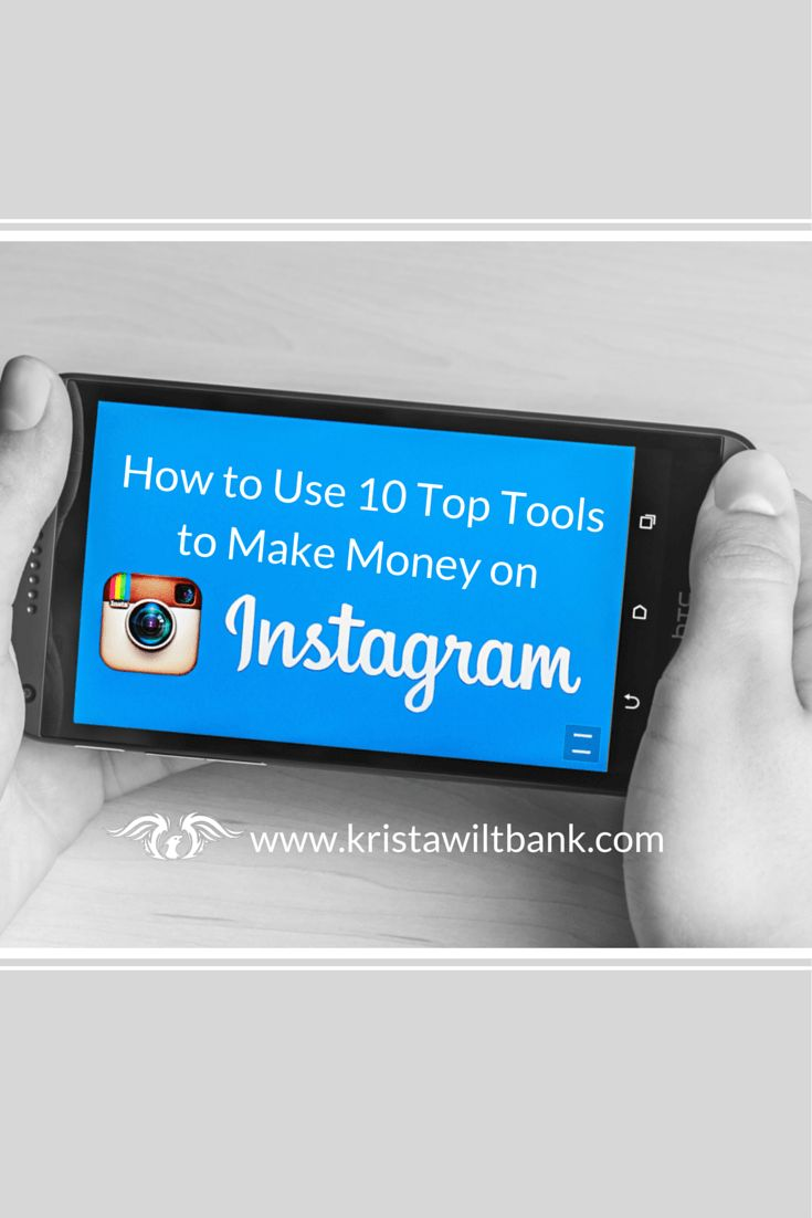 How to Use 10 Top Tools to Make Money on Instagram  Learn about using 10 of the top tools to make money on Instagram. These tools include creating shoppable storefronts and emailing affiliate links to fans.