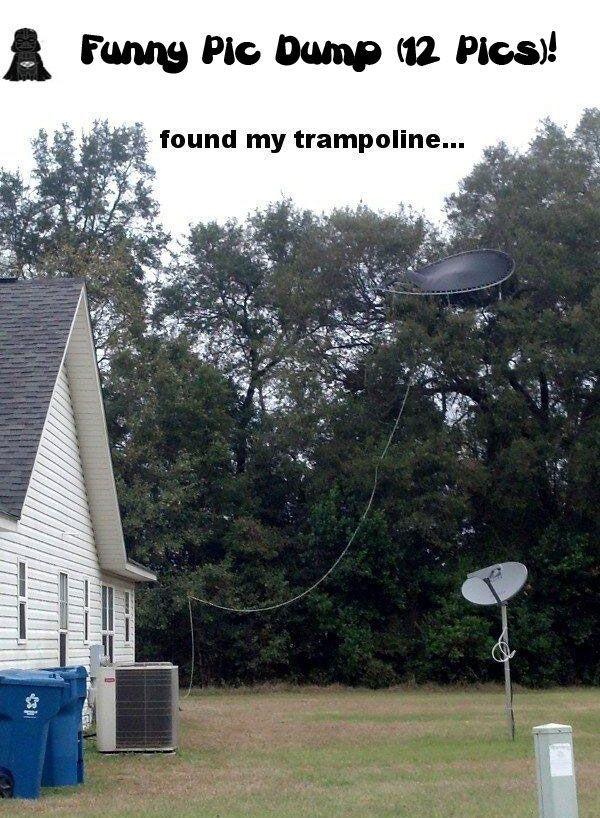 Found my trampoline...