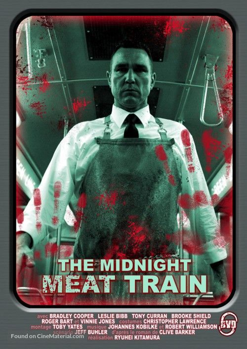 TheMidnight Meat Train. Was supposed to be in the After dark Horror Festival, but just missed out. Great gore flick