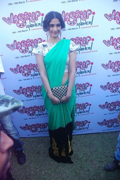 Sonam Kapoor in Saree photo
