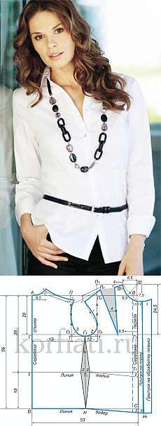 ESCUELA DE COSER: Cómo coser blusas - Patrón de Anastasia Korfiati
