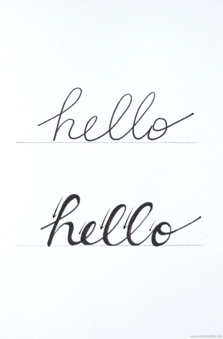{März} Kalligraphie und Handlettering lernen – nein nein