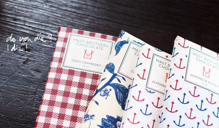 love.: Mast Brother, Inspiration Wraps, Brother Chocolates, Graphics Design, Chocolates Bar, Chocolates Wraps, Nautical Prints, Wraps Paper, Nautical Inspiration