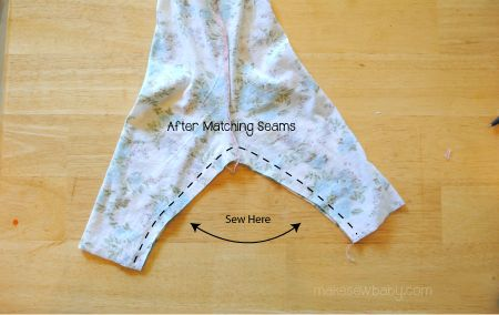 Sew Your Own Baby Clothes: Baby Leggings Pattern