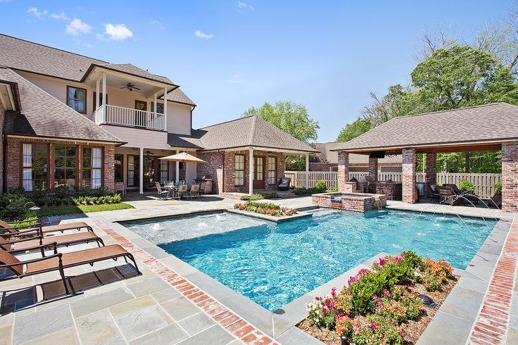 best 25 gunite pool ideas on pinterest pool designs On pool landscape design baton rouge