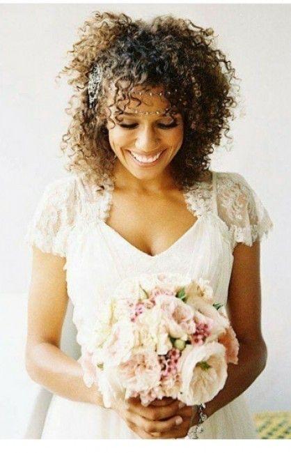 Penteados noivas negras - 6