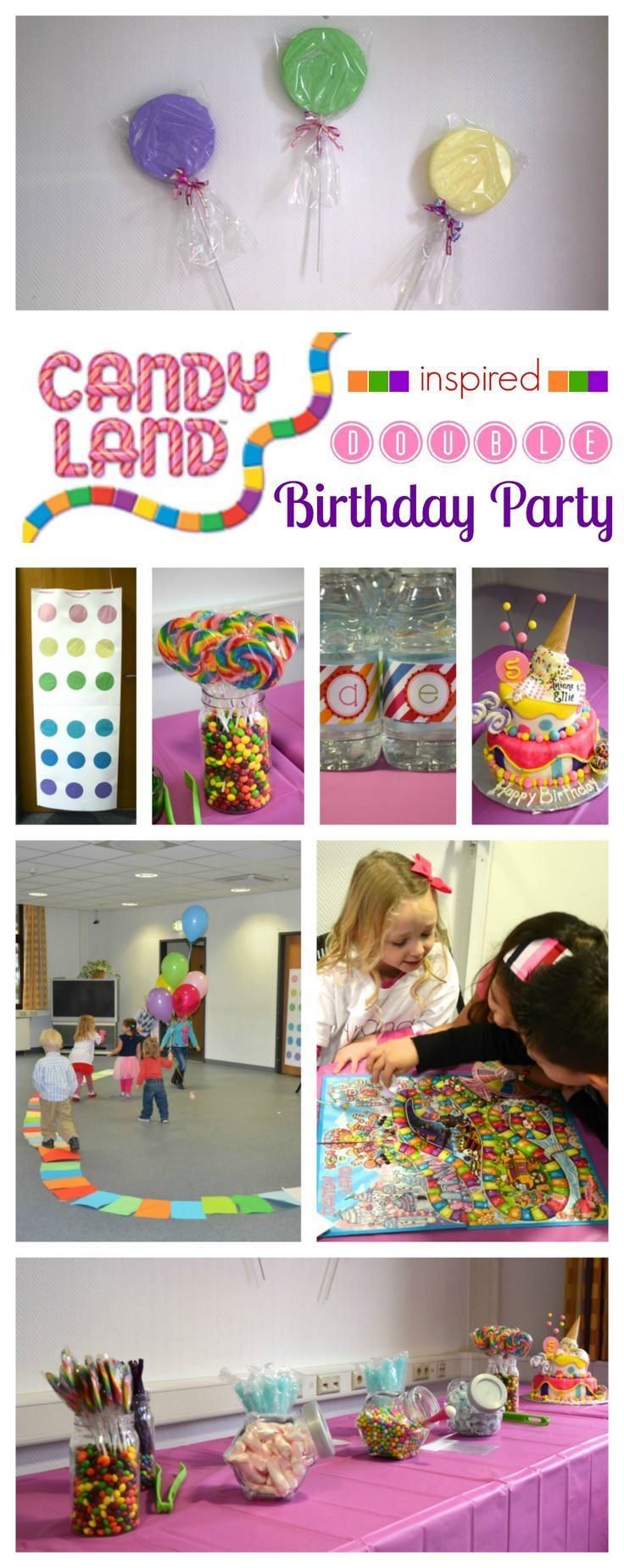 Candy Land Birthday Party: decor, food and game ideas: