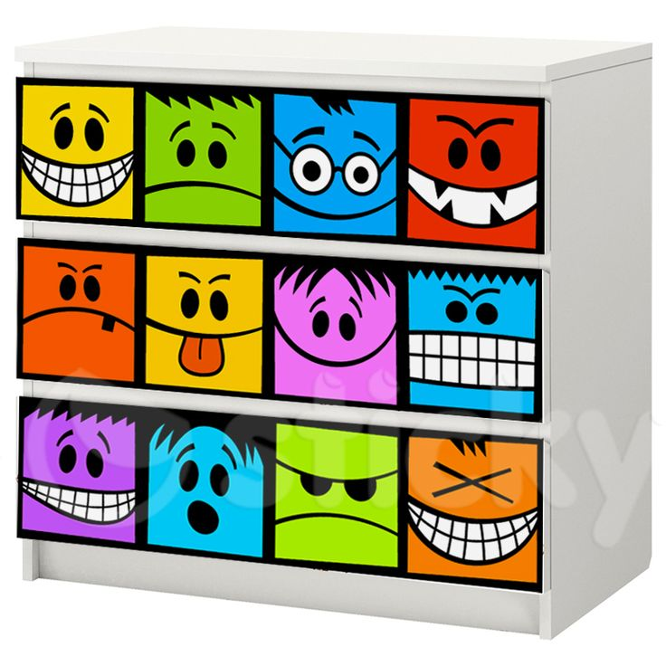Furniture Sticker FACES by Sticky!!!