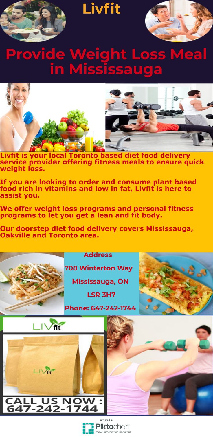 Livfit is your local Toronto based diet food delivery service provider offering fitness meals to ensure quick weight loss.