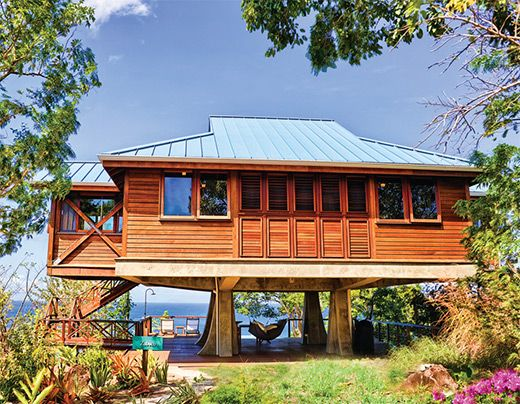 16 best eco tourism images on pinterest hiking tourism for Beach house construction materials