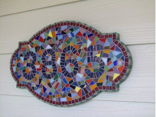 House Number Plaque - Custom Order - Home and Garden Design Idea's