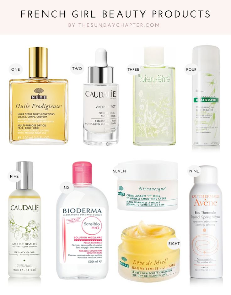 25+ Great Ideas About French Skincare On Pinterest