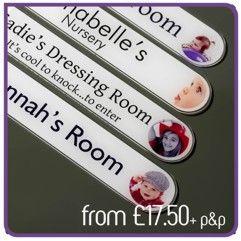 61 best Girls Bedroom Door Signs & Door Name Plates for Girls images ...