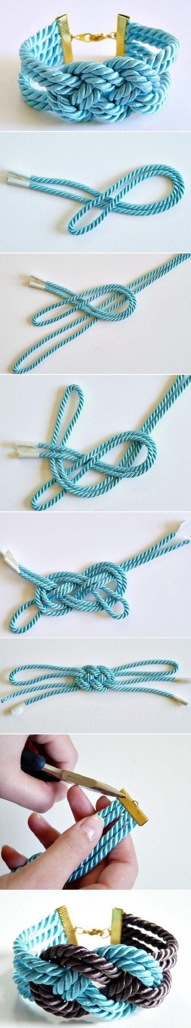 Leuke gevlochten armband, makkelijk te maken!