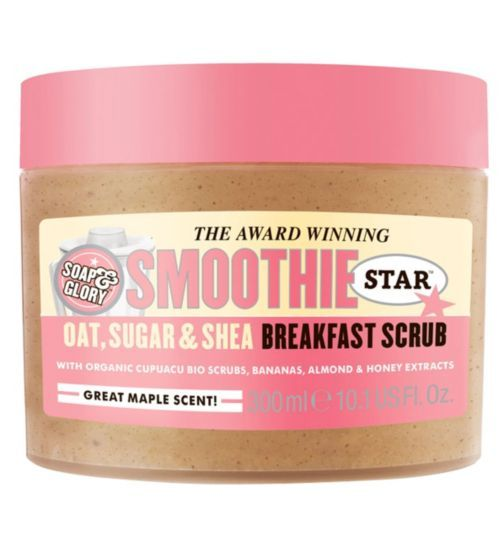 Soap and Glory Smoothie Star Breakfast Scrub - smells amazing! The best way to start the day