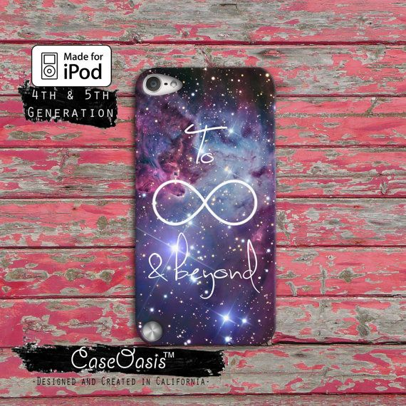 To Infinity and Beyond Tumblr Disney Toy Story Cute Space Case iPod Touch 4th Generation or iPod Touch 5th Generation Rubber or Plastic Case on Etsy, $14.99