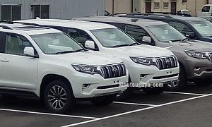 2018 Toyota Land Cruiser Prado Spotted Uncamouflaged In Japan Debut Imminent :  It was about time Toyota gave the Land Cruiser Prado some tender loving care more so if you bear in mind the fourth-generation model is in production since 2009. The Toyota-branded counterpart of the  Lexus GX  comes with full-time  4WD  furthered by a torque-sensing limited-slip differential and electronic differential lock. A capable off-road vehicle the J150 Prado for the 2018 model year borrows a handful of…