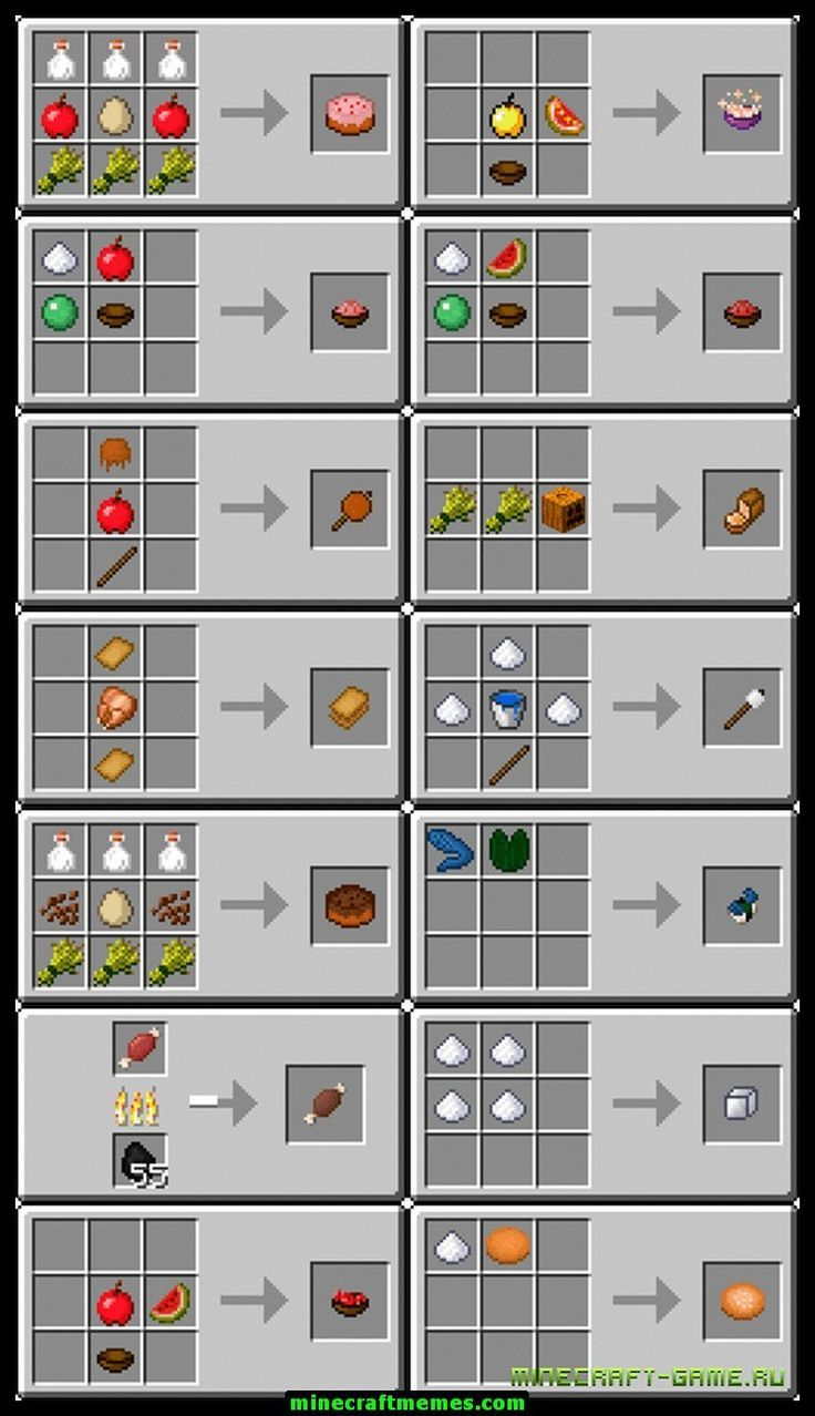 36642540f3eeebcd82db61245fad993a - Minecraft Rezepte