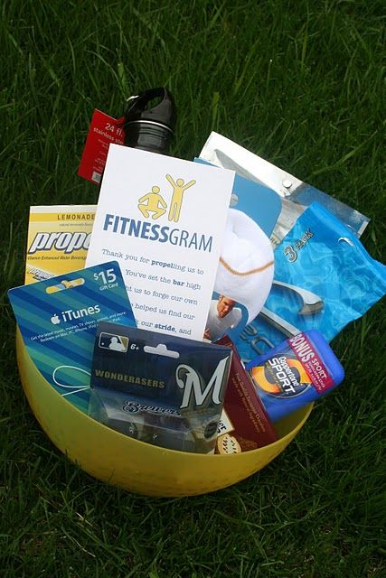 Fitness gram - A simple gift idea for a PE teacher, coach, trainer at the gym or an active parent!