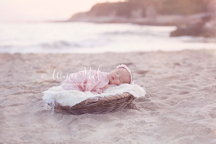 Newborn Beach Photo Session | Santa Cruz, CA