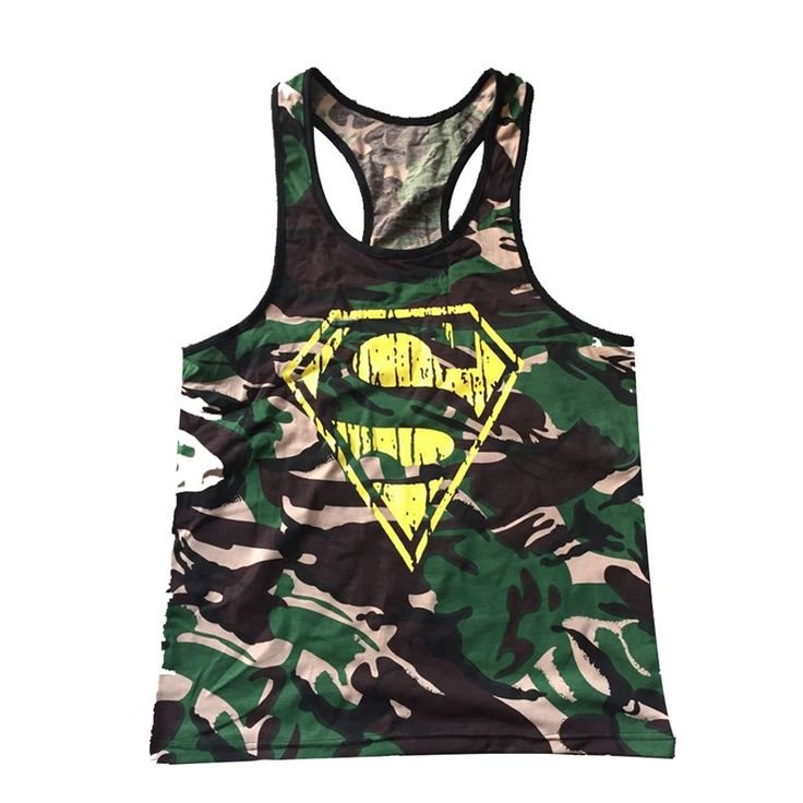 Buy 2016 New Gym clothing Singlets Camouflage Tank Tops Shirt Bodybuilding Equipment Fitness Men s Golds Gym. Click visit to read descriptions