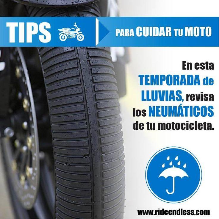 En Estados Unidos la ley dice que el dibujo de los neumáticos debe tener una profundidad mínima de 2 mm para ser aptos para circular, esto está muy bien para piso seco, pero para piso húmedo el ideal es tener los neumáticos nuevos, con todo su dibujo, en especial al centro, que es donde primero se gastan.   En Ride Endless encontrarás los mejores neumáticos para tu moto en esta época de lluvia.  #BMW #Motorrad #Tips #RideEndless #TipRideEndless