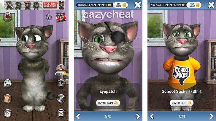 Talking Tom Cat 2 v5.0.1 Cheat http://www.eazycheat.com/2016/05/talking-tom-cat-2-v501-cheat.html