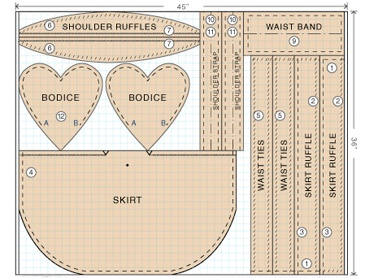 3 Free Apron patterns