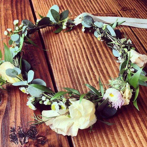 homemade flower crowns