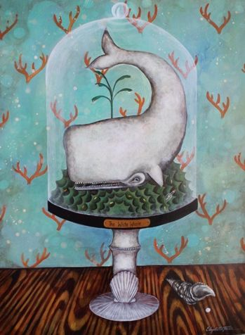 The latest works by Elizabeth Foster at Two Moon Gallery August 1, 5:30-8:30 #Nashvilleart